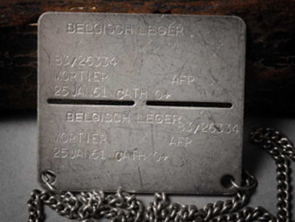 BEL army dogtag